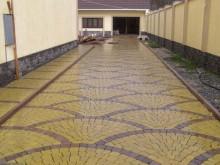 Интересные варианты укладки тротуарной плитки