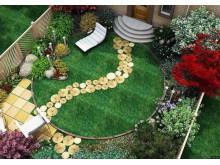 Садовые бордюры: превращение приусадебного участка в настоящее произведение искусства