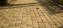 Как используют тротуарную плитку за границей?